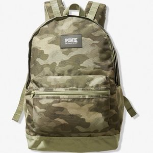 NEW! VS PINK Camo Backpack